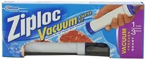 Amazon.com: Ziploc Kit de iniciación al vacío, 3 bolsas de ...