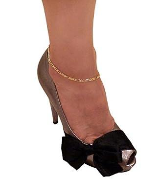 "Women's Gold-Tone 10"" Various Chain Ankle Bracelet Anklet"
