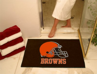 Fan Mats Cleveland Browns All-Star Rug, 34