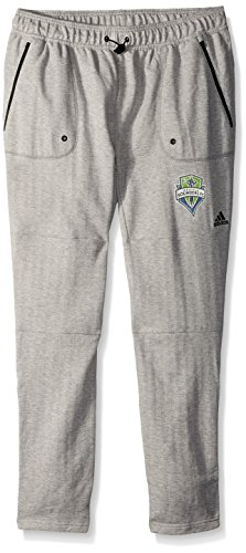 adidas MLS Seattle Sounders Fc Ultimate Worn French Terry Jogger Pants, Large, Medium (Adidas Retro Shorts)
