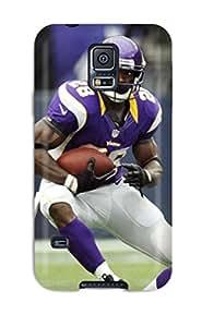 Hot Design Premium VREhlrd6367HkLdc Tpu Case Cover Galaxy S5 Protection Case(adrian Peterson Football )