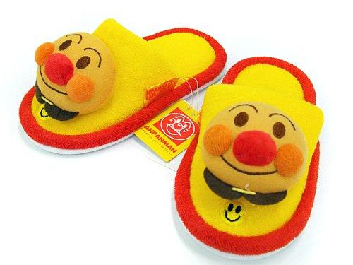 Anpanman baby slippers red ~ yellow / image 1