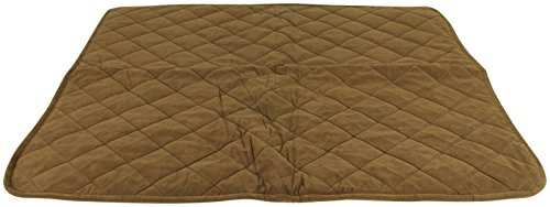 CPC Reversible Sherpa/Quilted Microfiber Throw for Pets, 50-Inch, Chocolate