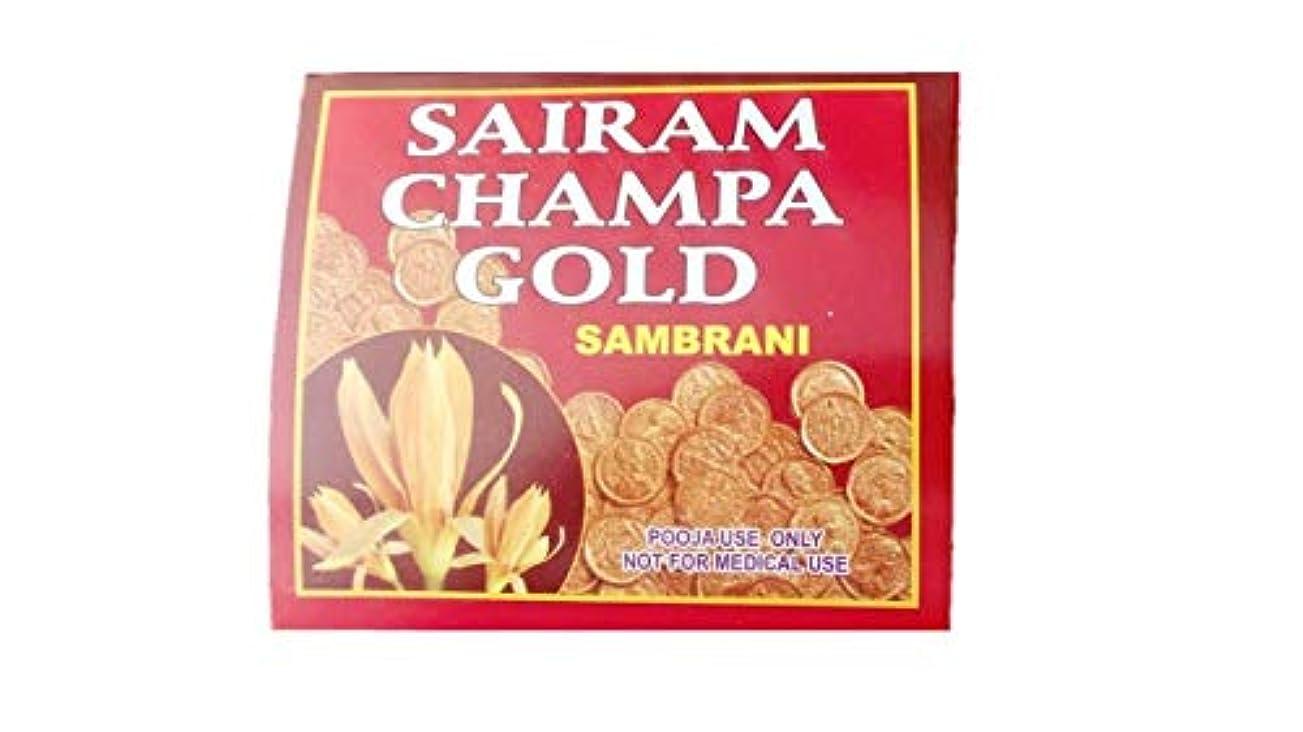 家主恵み消えるRadha Krishna Benzoin Sairam Champa Gold Dhoop(500 Grams)