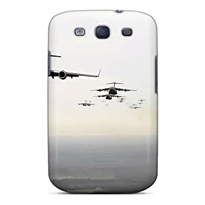 Galaxy S3 Hard Back With Bumper Silicone Gel Tpu Case Cover Twenty C 17 Globemaster Iiis by supermalls