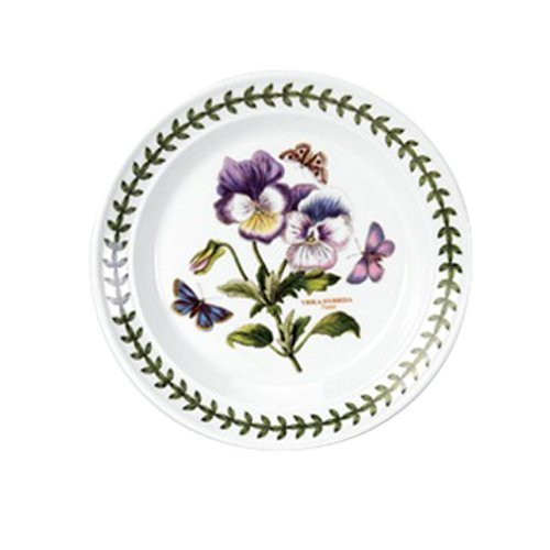 Portmeirion Botanic Garden Bread and Butter Plate, Set of 6 Assorted Motifs