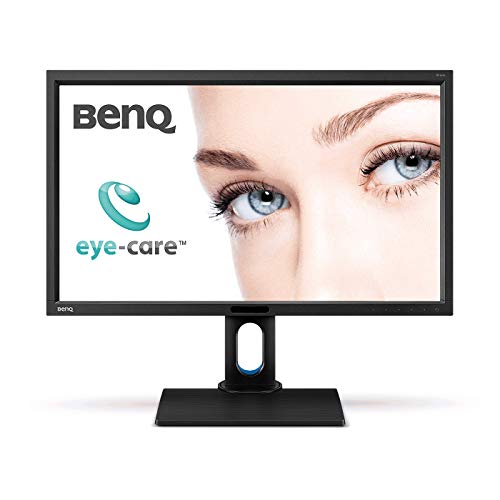 BenQ BL2711U 27-Inch IPS 4K Monitor, 3840x2160,  sRGB, and Rec.709,...