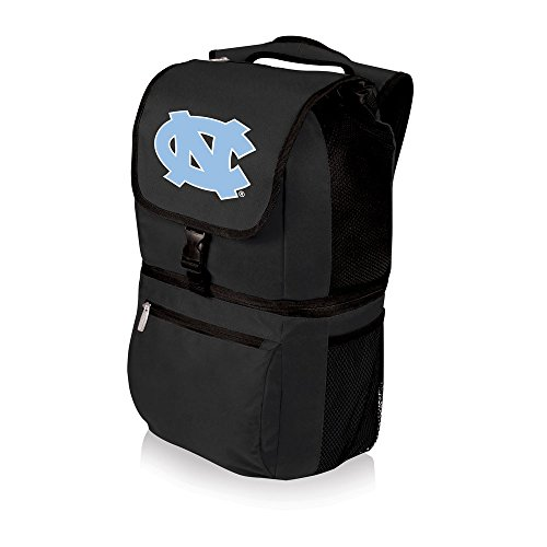 - PICNIC TIME NCAA North Carolina Tar Heels Zuma Insulated Cooler Backpack, Black