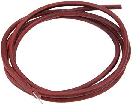 Hicello - Cinturón de piel (183 cm), diseño antiguo con gancho para máquina de coser Singer: Amazon.es: Hogar