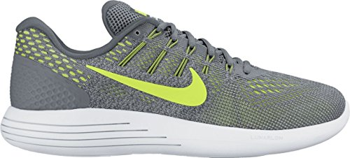 Nike Lunarglide 8, Zapatillas de Running para Hombre COOL GREY/VOLT-PURE PLATINUM