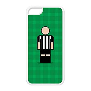 Besiktas White Silicon Rubber Case for iPhone 5C by Blunt Football European + FREE Crystal Clear Screen Protector
