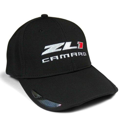 Apparel Accents (Chevrolet Camaro ZL1 Carbon Fiber Look Accent Baseball Cap)