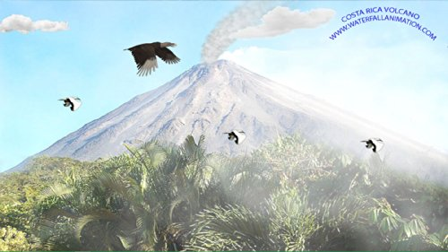 Costa Rica Volcano [Download] by Waterfall Animation