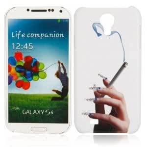 Plastic Dazzle Color Series Protective Case with Cloud and Smoke BB-W Pattern for Samsung S4 i9500