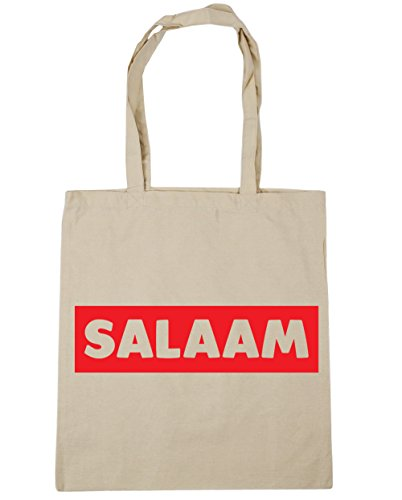 litres Shopping Natural 42cm 10 Gym x38cm Beach Salaam Bag HippoWarehouse Tote EwPqzxv
