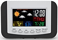 Weather Station Alarm Clock with Large E...