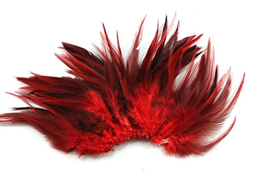 100pcs-saddle-hackle-rooster-feathers-5-6inch-red