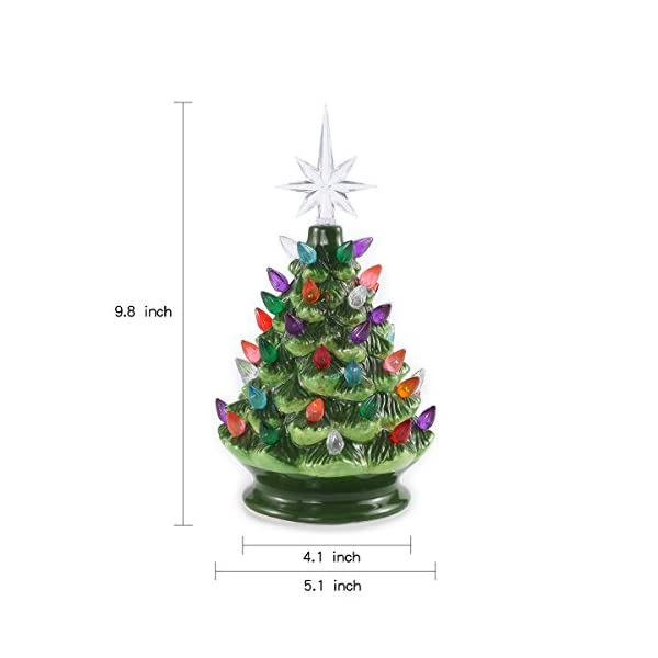 Joiedomi-9-Tabletop-Prelit-Ceramic-Christmas-Tree-with-LED-Lights-Battery-Powered-Mini-Christmas-Tree-Decoration