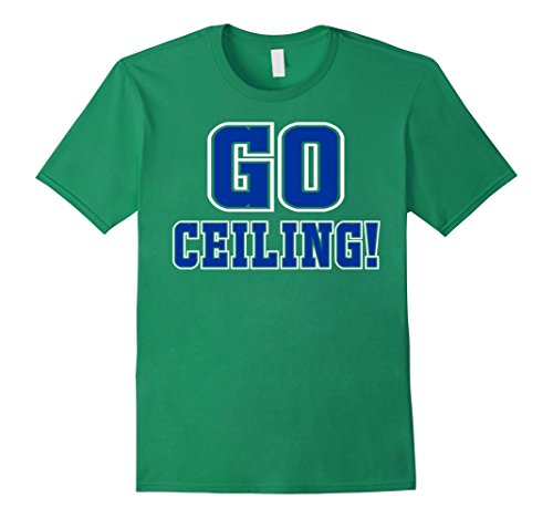 Mens Ceiling Fan Easy Genius Last minute Halloween Costume Shirt Small Kelly Green