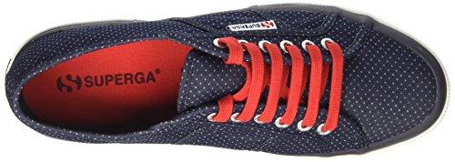 Cotm Indigo Blue Uomo Sneaker 2750 Dots Superga italianshirt A Collo Basso qSBOxH76n