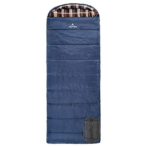 TETON Sports Celsius XL 0F Sleeping Bag; Great for Family Camping; Free Compression Sack (Best Backpacking Sleeping Bag 2019)
