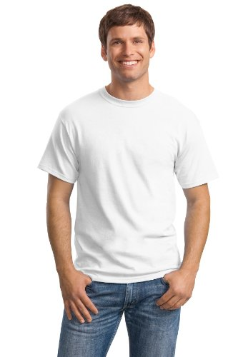 Hanes Men's Comfortsoft T-Shirt (Pack Of 4),White,X-Large
