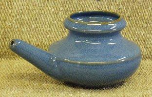 Ceramic Neti Pot - Blue
