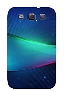 Exultantor Case Cover Protector Specially Made For Galaxy S3 Abstract Blue