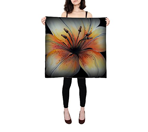 Scarves Women Silk Aow0370 Tigerlily - Small Square Scarf