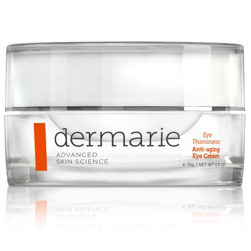 Dermarie Eye Illuminator crème anti-âge pour les yeux rides et ridules, 0,5 oz 15 ml /