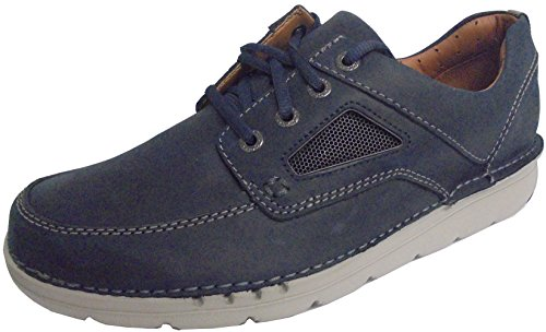 Leather Da Unnature Navy Uomo Clarks Time fYwn6