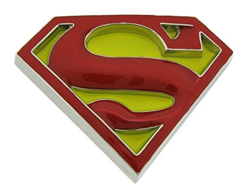 Superman Yellow Finished Belt Buckle product image
