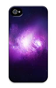iPhone 4S CasePurple Space 3D Custom iPhone 4/4S Case Cover