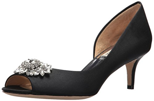 Badgley Mischka Women's Macie Pump, Black, 7.5 M US by Badgley Mischka