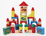 62 grains of six surface painting learning three-dimensional jigsaw puzzle!Wooden building blocks!Children's educational toys! Q-096