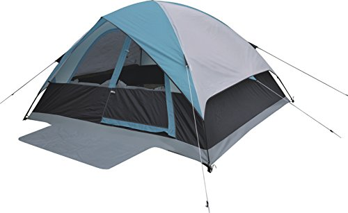 Alpinizmo High Peak USA Moffit 6 Men Tent with Foot Print, One Size, Blue