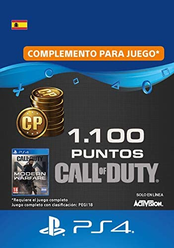 Call of Duty : Modern Warfare 2400 Points | Código de descarga PS4 ...