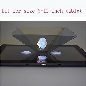 Amazon.com: ziaxa (TM) Holograma publicita traje 3d Holo ...