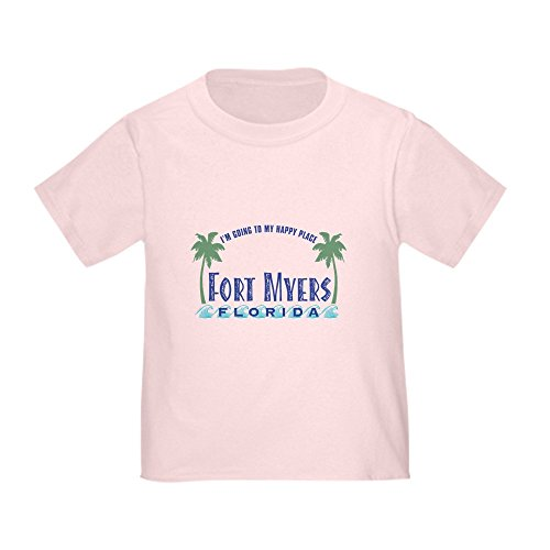 CafePress - Ft. Myers Happy Place - Toddler T-Shirt - Cute Toddler T-Shirt, 100% - Myer Melbourne City