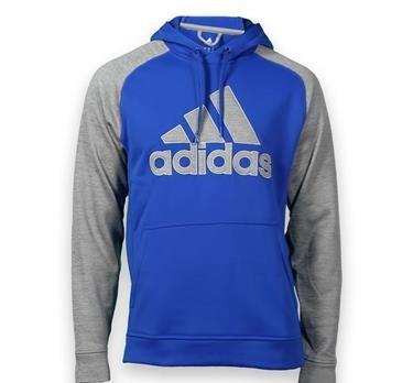 Amazon.com  adidas Logo Tech Fleece Hoodie (LG, Blue Grey)  Clothing 3e099d080c