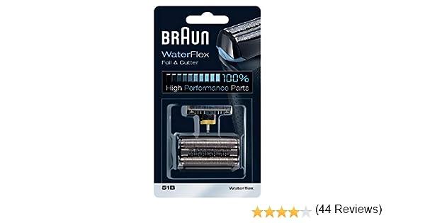 Braun - Combi-pack 8000 - Láminas de recambio + portacuchillas: Amazon.es: Salud y cuidado personal