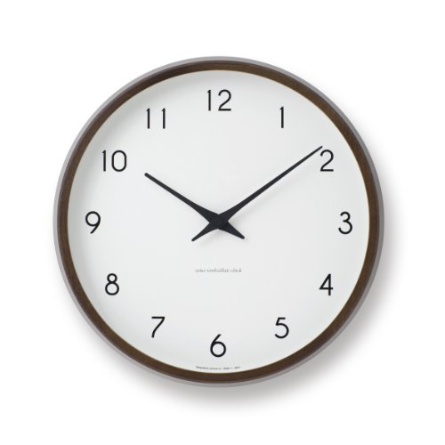 Lemnos Campagne radio clock Brown PC10-24W BW