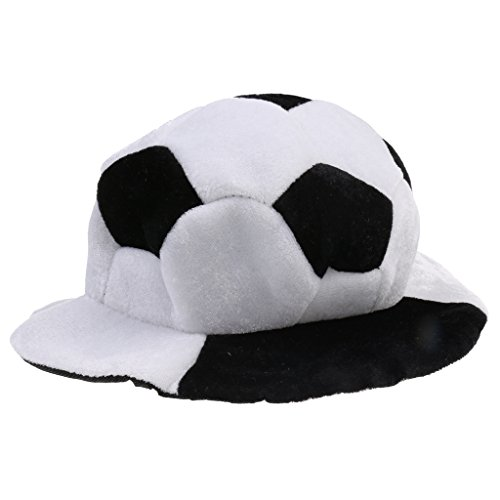 Soccer Ball Costume (Jili Online Champions World Cup Football Soccer Competitions Warm Hat Party Headgear Cap)