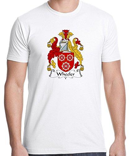 Irish Family Coat Of Arms (Wheeler Coat of Arms / Family Crest 100% Cotton Men's T-shirt XX-Large)