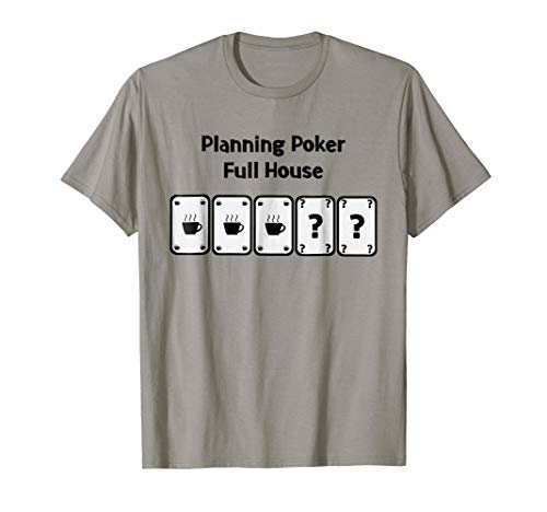 Planning Poker Full house! Software Engineering SCRUM shirts