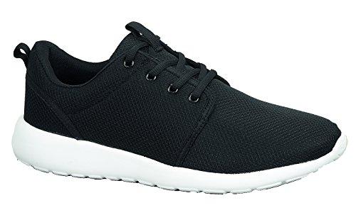 SFO Sneaker Uomo, Nero (Black/Whie), 40 EU