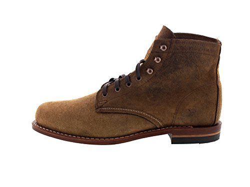 Wolverine 1000 Mile Premium-Boots 1000 Mile - Brown Waxy, Taille:45 EU