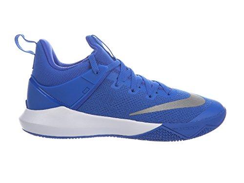 Nike Football Shift - Nike Men's Zoom Shift Game Royal/White Nylon Basketball Shoes 14 D(M) US