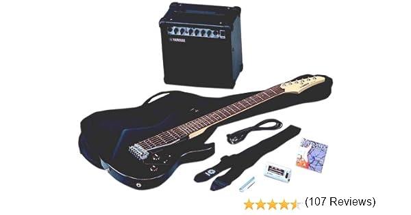 Yamaha ERG 121 GP II BL - Guitarra eléctrica (madera), color negro ...