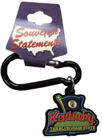 Jenkins Enterprises 1937857 Kentucky Keychain Carabiner PVC - Case of 144 by Jenkins Enterprises